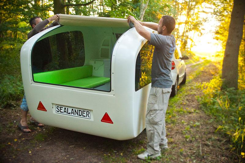 Sealander Amphibious Caravans 8