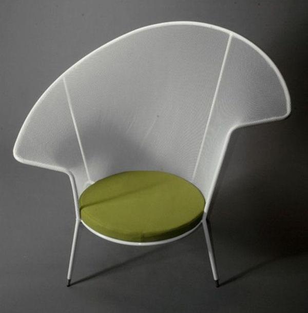 Stretched Nylon Net Stiletto Chair 1