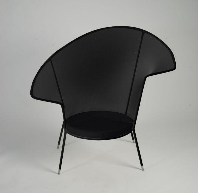 Stretched Nylon Net Stiletto Chair 2