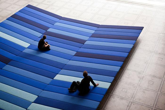 Textile Field installation 1
