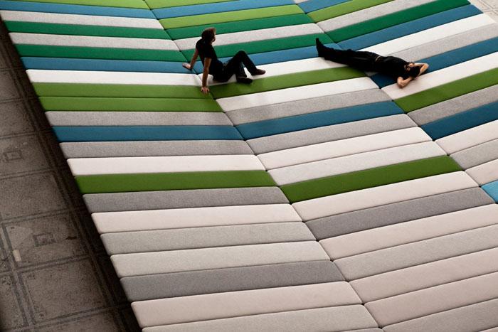 Textile Field installation 10