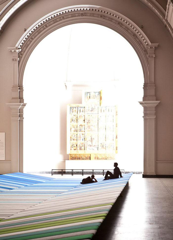 Textile Field installation 4