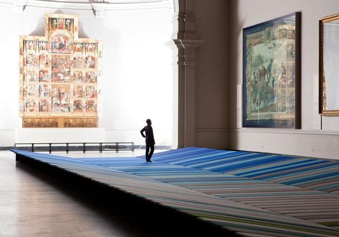 Textile Field installation 6