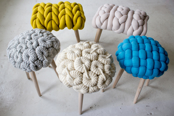 Knit Stool collection 1