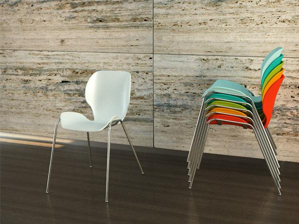 Lata stacking chair 2
