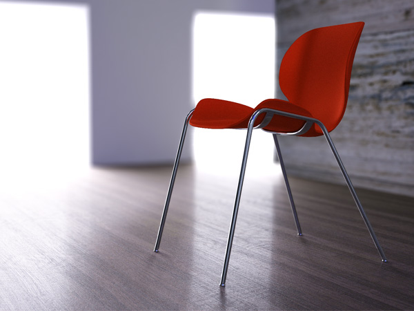 Lata stacking chair 3