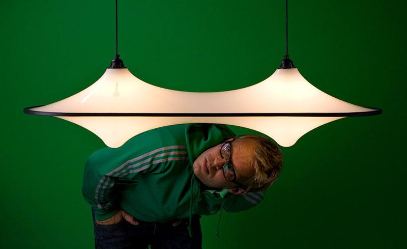 Static Plastic lamp series 3
