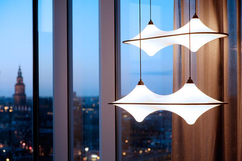 Static Plastic lamp series 4