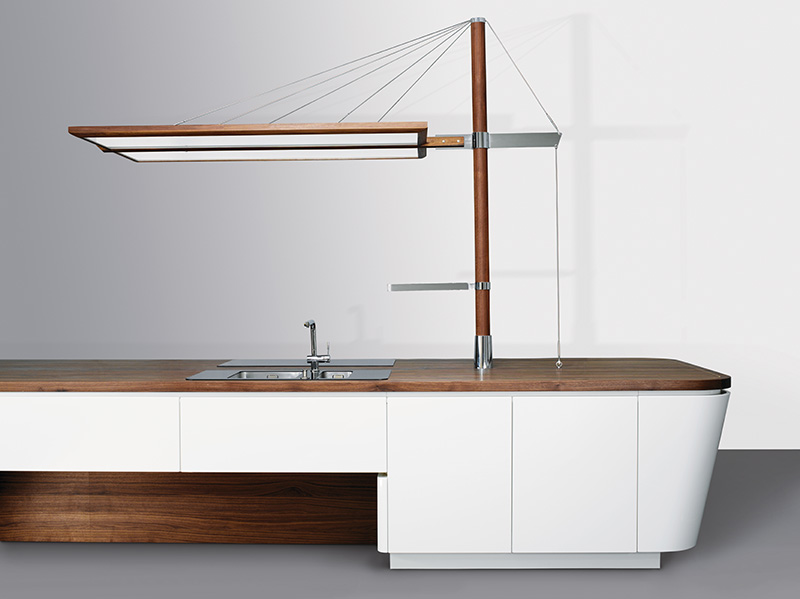 Marecucina kitchen shaped like boat 5