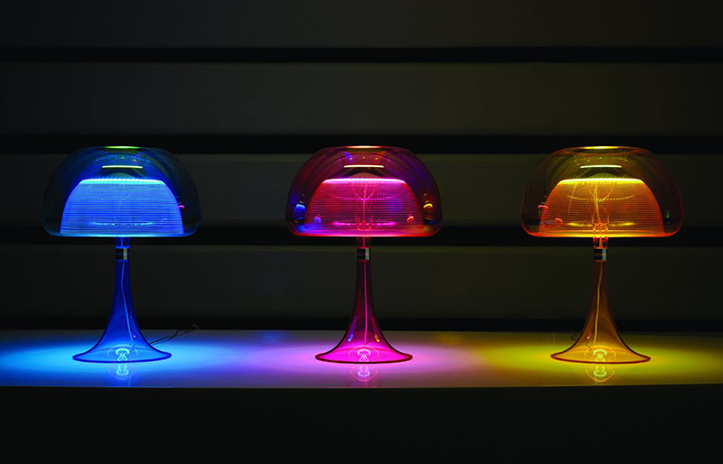 Aurelia Table lamp inspired by Moon Jellyfish 1