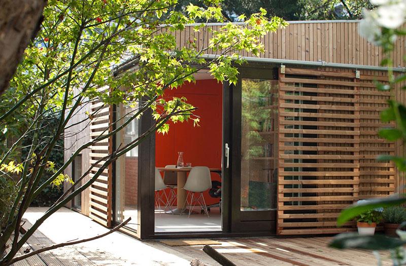 garden studio in Voorburg 1