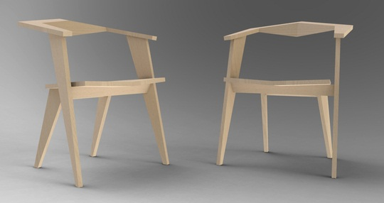 Katto light wooden Chair 2