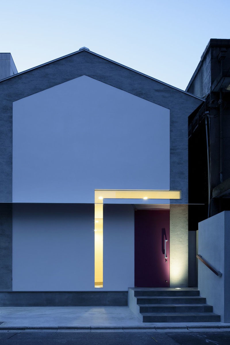 Keyhole House in Kyoto, Japan 11