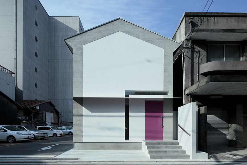 Keyhole House in Kyoto, Japan 2