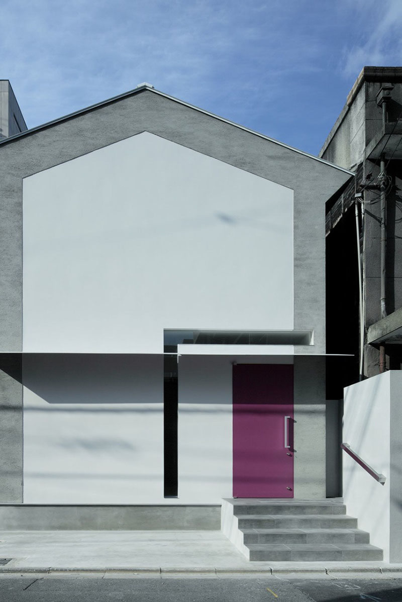 Keyhole House in Kyoto, Japan 3