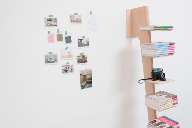 Étagère Beech Wood wall shelf 3