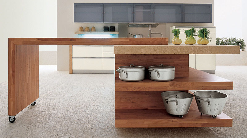 expandable kitchen island mare kitchen by gd cucine 11604