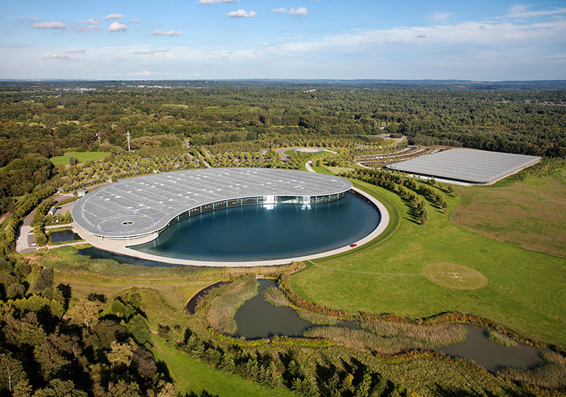 McLaren production Centre by Foster + Partners 1