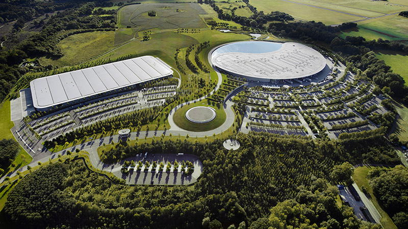 McLaren production Centre by Foster + Partners 2