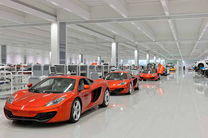 McLaren production Centre by Foster + Partners 3