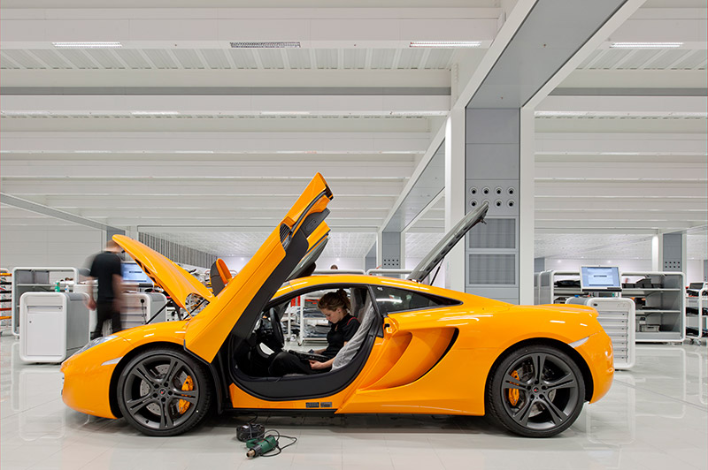 McLaren production Centre by Foster + Partners 5