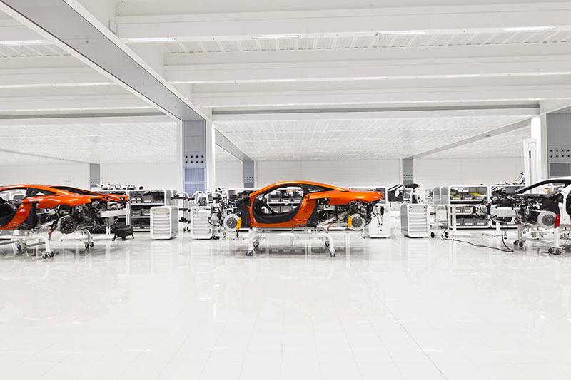 McLaren production Centre by Foster + Partners 9