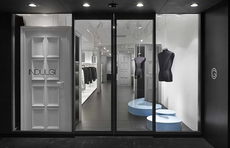 Indulgi clothing shop interiors 2