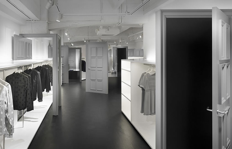 Indulgi clothing shop interiors 4