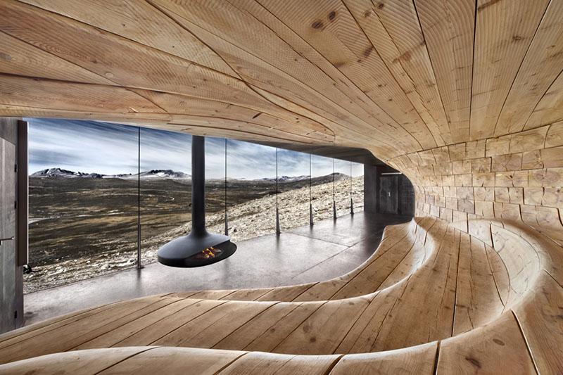 Norwegian Wild Reindeer Centre Pavilion 1