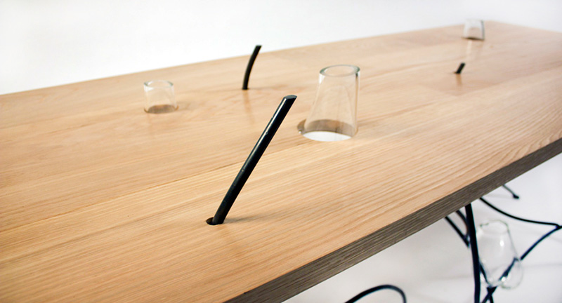 Sweep Table Inspired by Japanese Rock Gardens 3