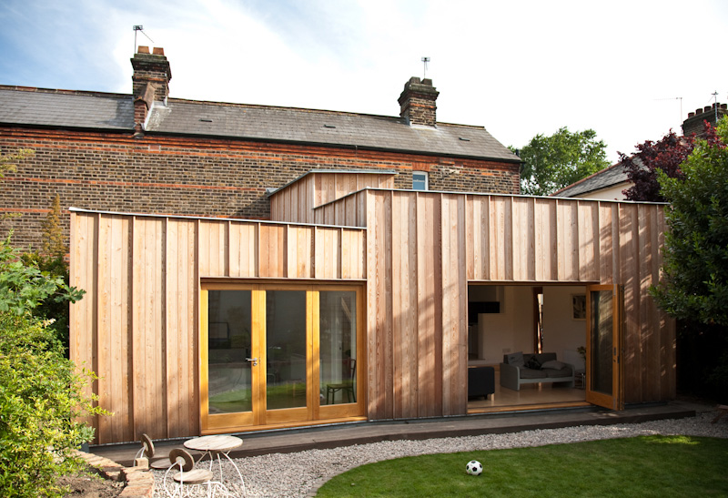 Timber Fin Extension House 1
