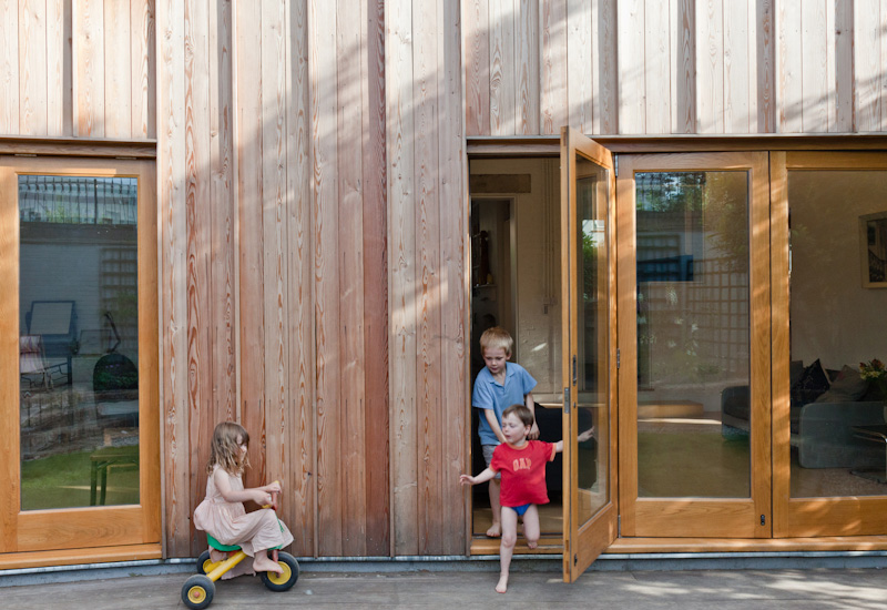 Timber Fin Extension House 2