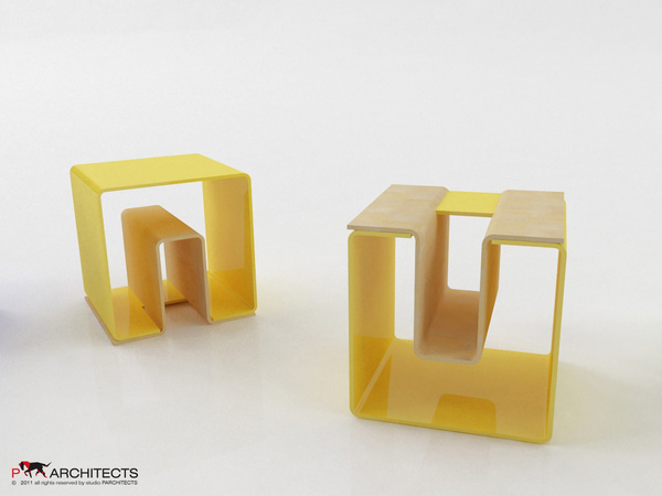 UN eco-friendly multifunctional Stool 5