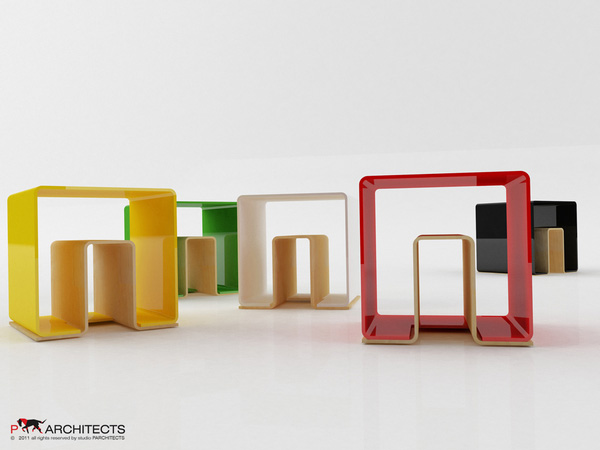 UN eco-friendly multifunctional Stool 7