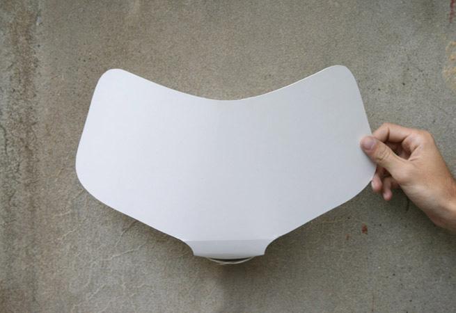 Fold wall lamp 6