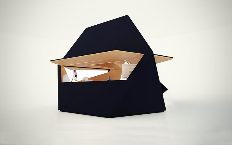 Compact Office Tetra Shed 4