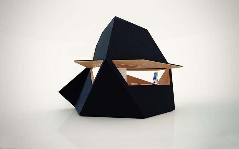 Compact Office Tetra Shed 5