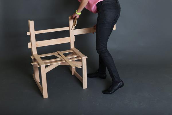 Chairnobil wooden chair 3