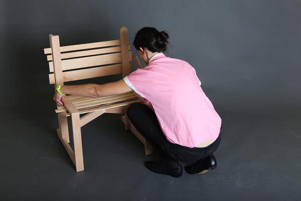 Chairnobil wooden chair 4