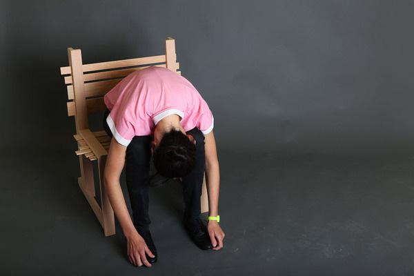 Chairnobil wooden chair 5