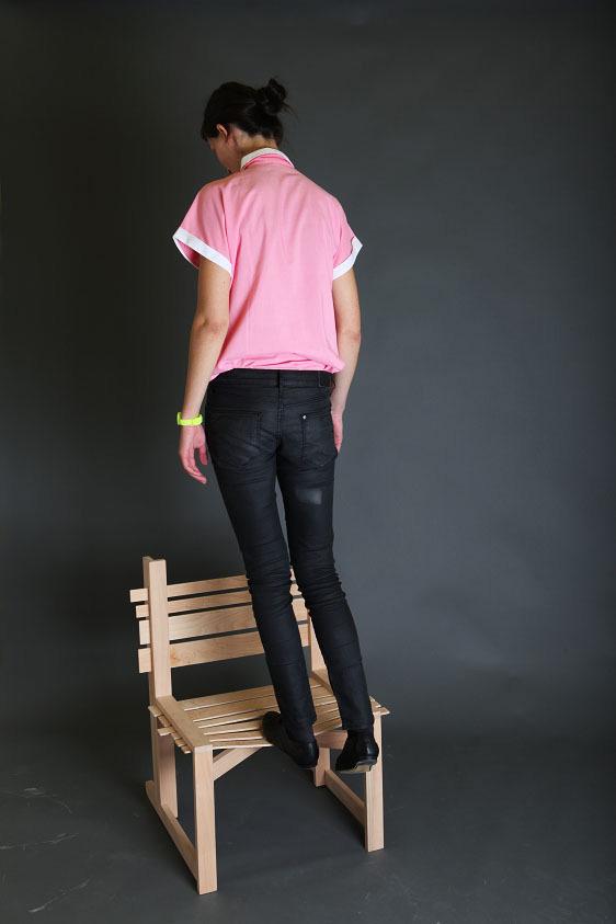 Chairnobil wooden chair 6