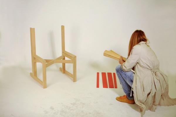 Chairnobil wooden chair 7