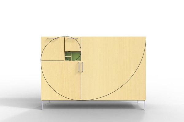 Fibonacci Cabinet 1