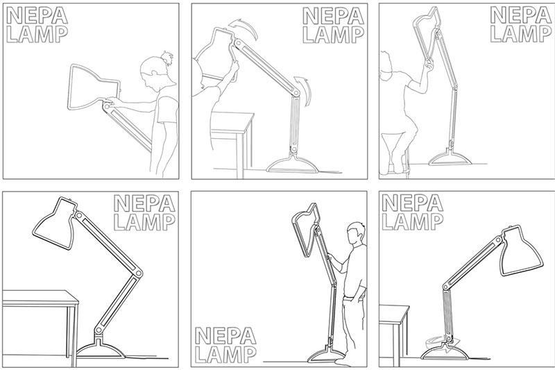 Nepa Task Lamp 6