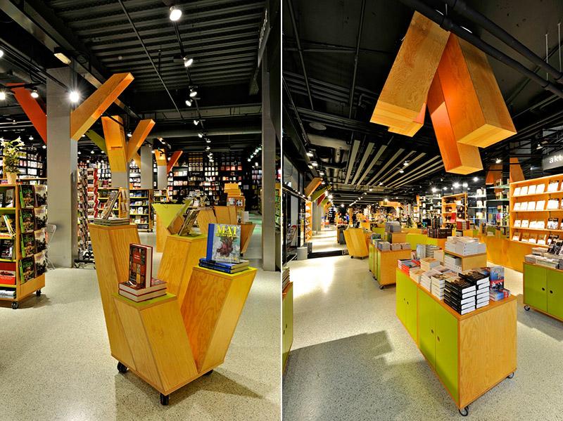 Tanum Karl Johan Bookstore Renovation 3