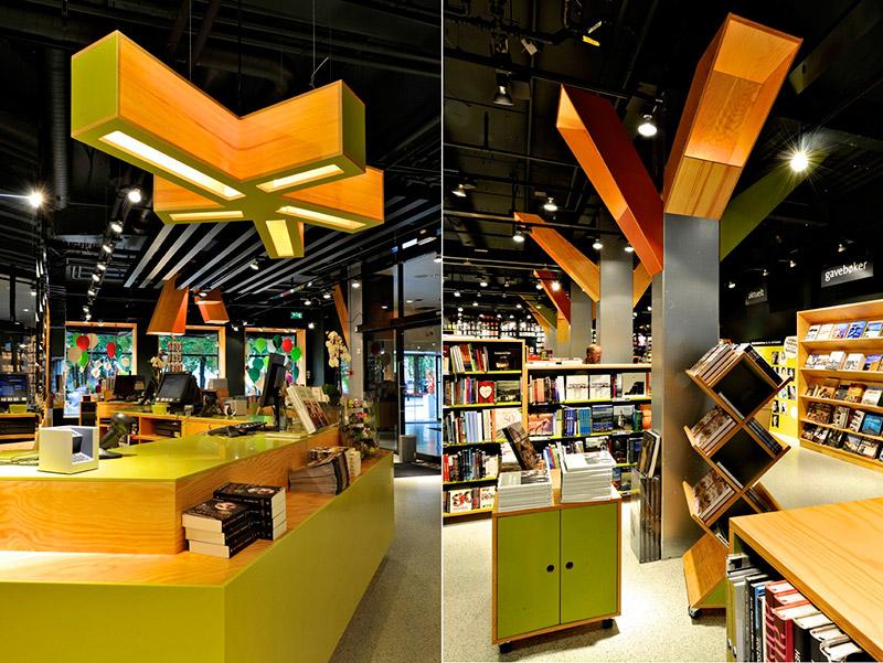 Tanum Karl Johan Bookstore Renovation 5