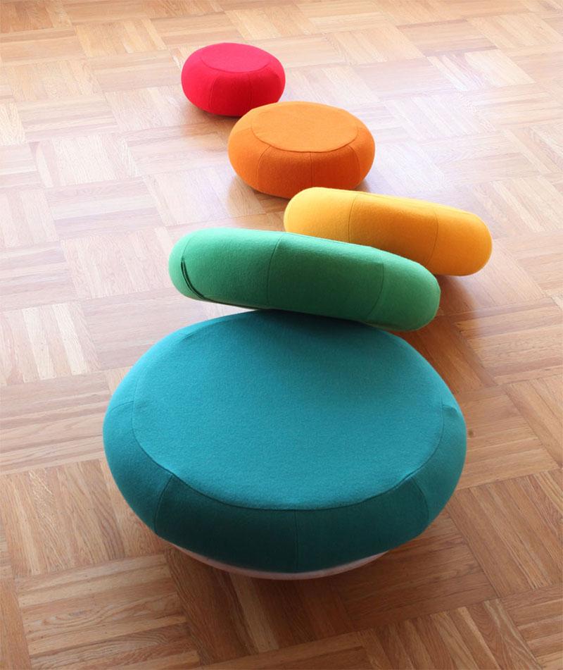 Mound of Rounds Modular Furniture System 6