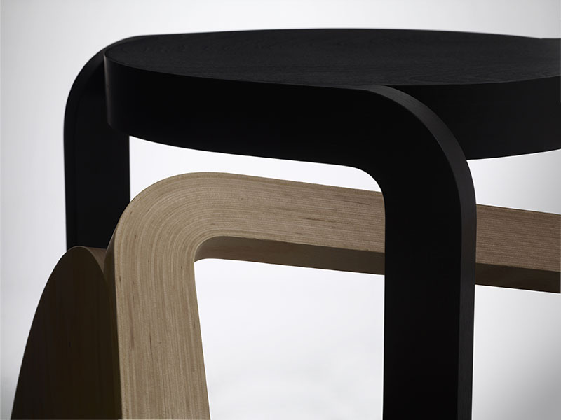 Spin Stackable Stool 6