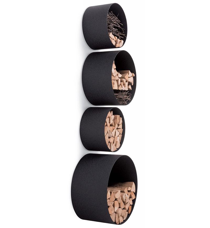 Tubola round wall-mounted storage shelves 4