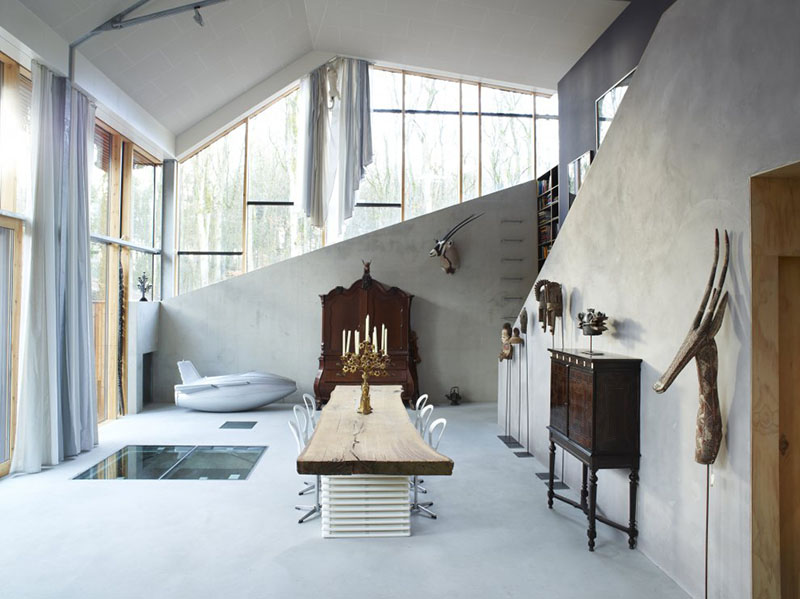 Dutch Mountain living room